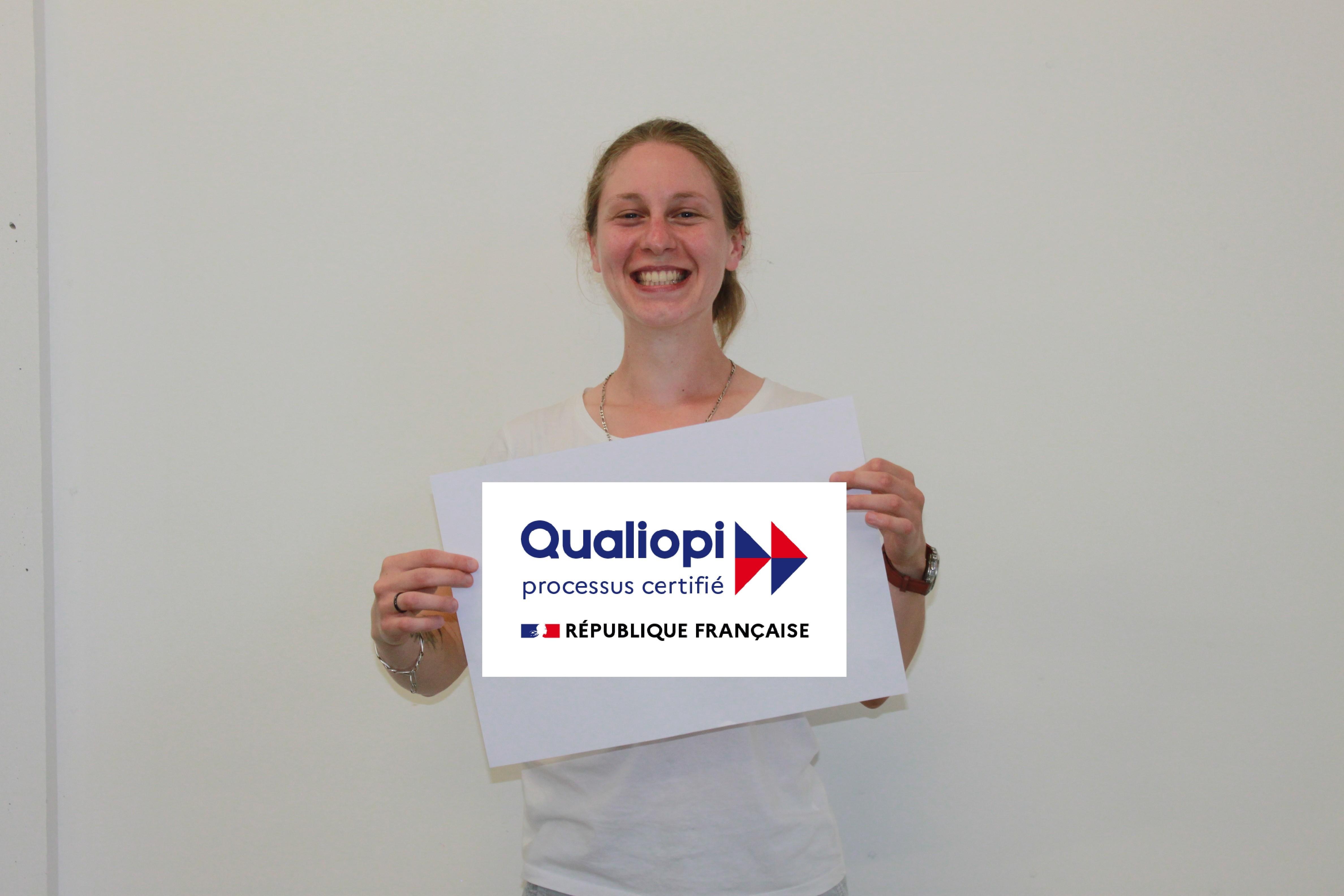 Nouveau Logo pour les organismes certifiés Qualiopi